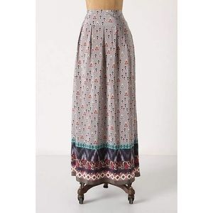 Anthropologie HeyHoe Conjuror Boho Maxi Skirt Sz 8